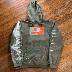 Nike Air Custom Bleached Hoodie